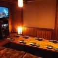 お家のような雰囲気で楽しめる3階の完全個室♪こちら6名~最大10名までOK!!!