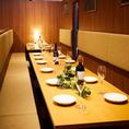 周りを気にしないプライベート空間でいつもと違った宴会を…心置きなくゆったり寛げる空間で贅沢な旬の食材を使用した逸品を豊富に使用したコース料理をご堪能ください。宴会個室を各種ご用意しているので幅広いシーンのご利用いただけます!お席のご相談や下見のご希望などお気軽にお電話でお問い合わせください!