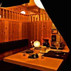 プライベート感満載の個室完備!誕生日や女子会はもちろん、デートにも最適です♪