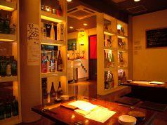 店長オススメの日本酒や焼酎が並びます。お気に入りを見つけてみて下さいね♪