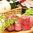 厳選食材!豚・牛・鶏・鴨・羊の5種類のお肉ご提供いたしております!