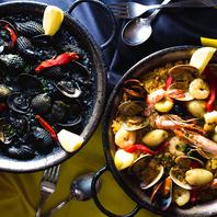 本格的なスペイン料理を味わえます!