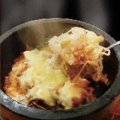 石焼薬味ビビンバ/石焼チーズビビンバ
