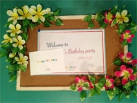 結婚式二次会やお誕生日PARTYに是非♪