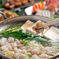 料理メニュー写真国産牛もつ鍋(味噌・醤油・塩)