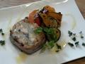 料理メニュー写真温製サバとジャガイモのテリーヌ