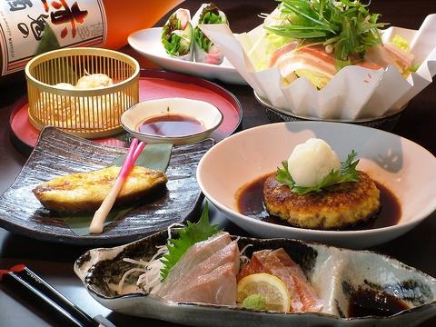 地産地消にこだわり、ゲストに合わせ和食と洋食を織り交ぜたオーダーメイド会席が人気