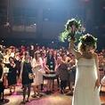 【2F】ブライダルパーティも人気♪結婚式二次会特別プランは3.5H貸切できます!ご希望の方にメッセージ入りケーキもご用意できます!一生の思い出にぜひご利用ください。