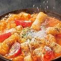 料理メニュー写真トマチ―赤から鍋