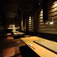 四日市で人気の掘りごたつ個室完備の居酒屋!
