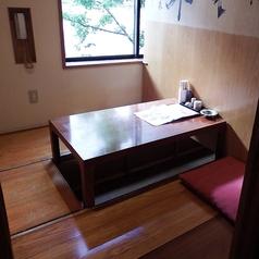 1階:4名様の個室お座敷席です。※仕切りを外して4名様以上の個室仕様にもご対応いたします。