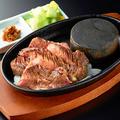 料理メニュー写真仙台名物 厚切り牛タンのステーキ
