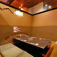 【難波周辺での宴会に】全席個室のゆったり空間♪