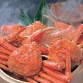 オホーツク海や北海道紋別など、美味しいカニが獲れると言われている漁場から直送仕入。