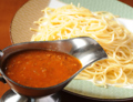 料理メニュー写真自家製ミートソース