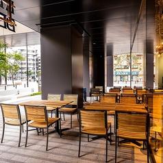 開放感のあるテラス席のご用意あり☆緑を感じながらお食事をお楽しみいただけます♪