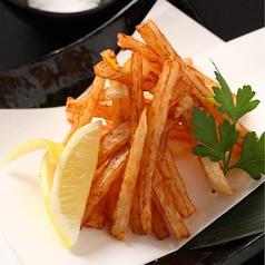 料理メニュー写真ほくほく・さくさく山芋フライ
