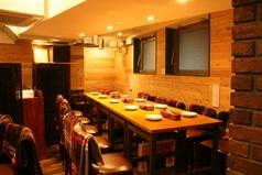 テーブル席は最大10名様までご利用いただけます。