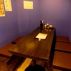 5名様用ボックステーブル席は1席のみ!