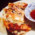 料理メニュー写真当店自慢の手作り肉野菜餃子