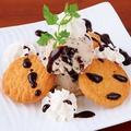 料理メニュー写真クッキー&クッキーアイス