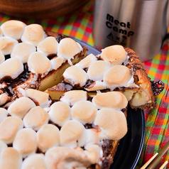 料理メニュー写真スモアチーズケーキ