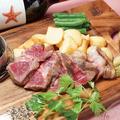 料理メニュー写真黒毛和牛 熟成サーロインステーキ