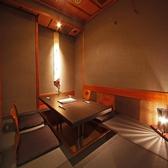 雰囲気あるシックな大人の個室
