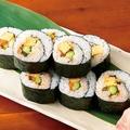 料理メニュー写真博多明太子と高菜の巻き寿司