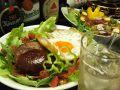 料理メニュー写真【お肉料理】ふんわりジューシーなハンバーグ