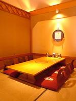 ご家族での利用も◎お座敷個室も完備しております。