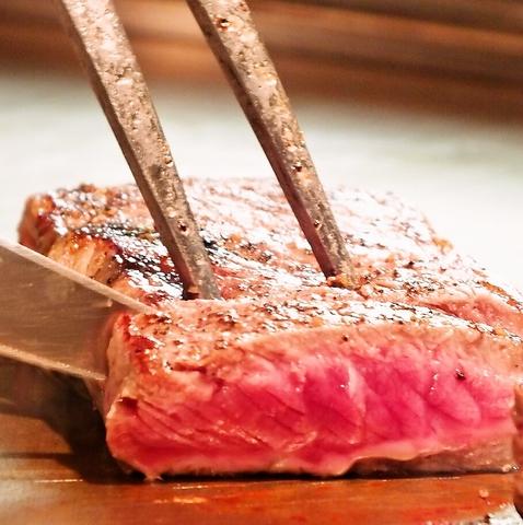 神戸牛・但馬産特選牛、贅沢食材が当日OK!但馬産特選牛ステーキset 180g5500円(税抜)