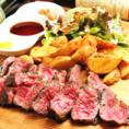 熟成肉のコースもご用意!こだわりの熟成肉を堪能していただけるコースを4000円でご用意しています!会社宴会や女子会、誕生日会に♪