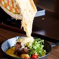 料理メニュー写真ラクレットチーズのグリルプレート(A・B・C)