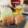 料理メニュー写真特ひれかつ定食≪定食はご飯・味噌汁つき≫