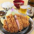 料理メニュー写真リブロースかつ定食≪定食はご飯・味噌汁つき≫