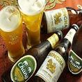 生ビールはもちろん、タイのお酒やジュースを、種類豊富に用意しました★