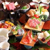 【燈里屋会席10000円(税抜)】村上牛・地魚を堪能!