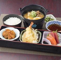 料理メニュー写真肉豆腐・和食膳