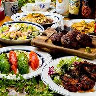 名古屋駅周辺で、お肉好きが喜ぶコース料理を♪