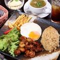 料理メニュー写真南米風鳥の唐揚げ(ワンプレート)