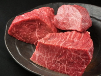 こだわりの赤身肉