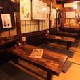 仲間との飲み会に人気のテーブル席★