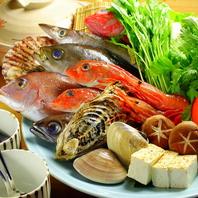 まんぼうだから出来る「海鮮魚介特選鍋」