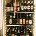 お酒も充実!ビールは20種類以上ご用意しています!
