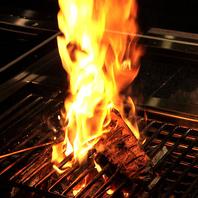 豪快!伝統の一本釣り鰹の炭火焼