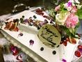【Wedding】下野農園ではレストランウェディングや結婚式の二次会も行っています。着席50名様、立食80名様程度までOKです。お料理は着席フルコース\8000~、立食ビュッフェ\2500~でご用意しております。その他司会者や音響設備、プロジェクターの手配等詳細はHP(http://shimotsukefarm.com/)もご覧ください!