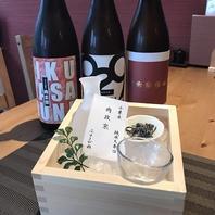 馬肉が美味しくなる日本酒や焼酎にもこだわっています。