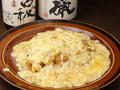 料理メニュー写真半熟玉子のオムライス
