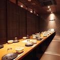 会社宴会・仲間内の飲み会に!店内には最大70名席までご案内できる大広間をご用意致しております。こちらのお席は個室となっております♪飲み会は『三間堂』の個室でどうぞ!ご予約はお早めに!!
